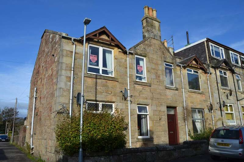 1 Bedroom Flat for sale in Kelburn Terrace , Fairlie KA29
