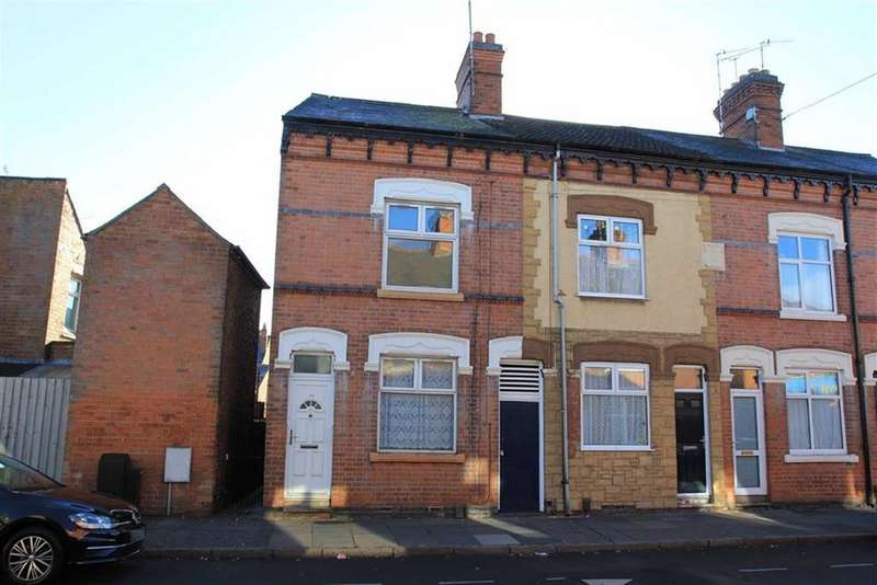 3 Bedrooms End Of Terrace House for sale in Jarrom Street, Westcotes, Leicester