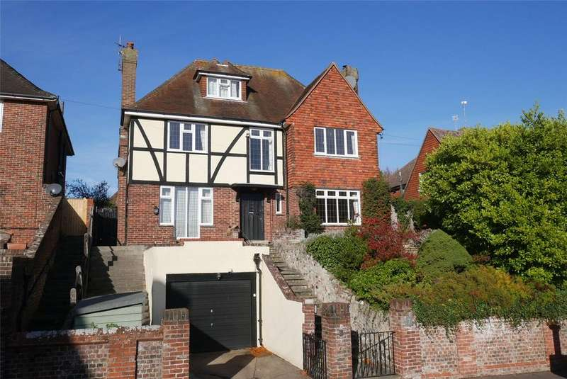 5 Bedrooms Detached House for sale in Mill Gap Road, Eastbourne, East Sussex, BN21