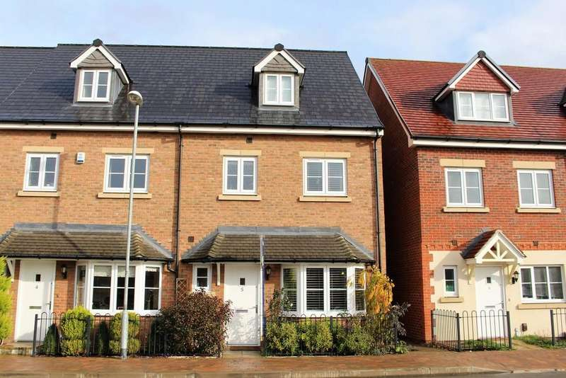 4 Bedrooms End Of Terrace House for sale in Fulmar Crescent, Jennetts Park