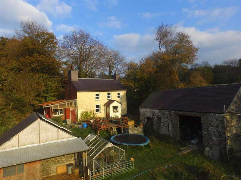 1 Bedroom Smallholding Commercial for sale in Ffaldybrenin, Near Lampeter.