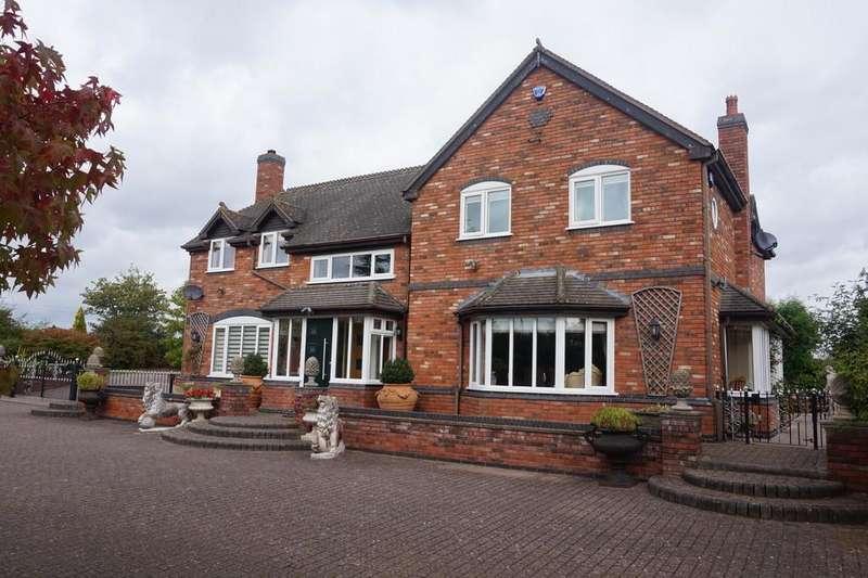5 Bedrooms Detached House for sale in Portleys Lane, Drayton Bassett, Tamworth
