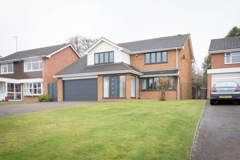 4 Bedrooms Detached House for sale in The Mount, Curdworth, Sutton Coldfield