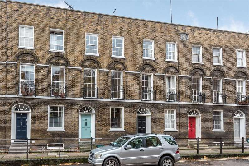3 Bedrooms Terraced House for sale in Cloudesley Place, Islington, London, N1