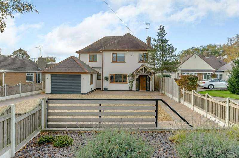 4 Bedrooms Detached House for sale in Moor Road, Papplewick, Nottingham, NG15