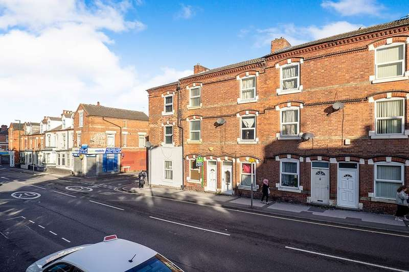 3 Bedrooms Property for sale in Hartley Road, Nottingham, NG7