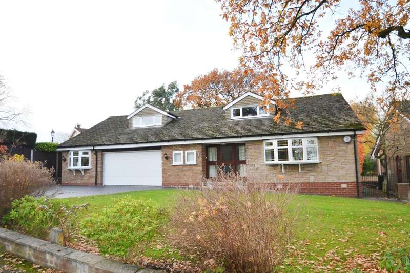 3 Bedrooms Detached Bungalow for sale in Firs Road, Gatley