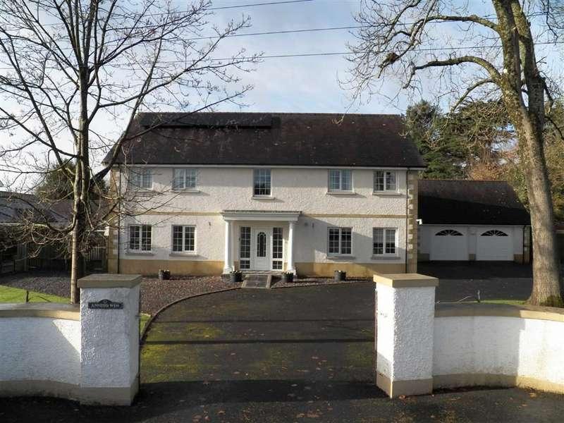5 Bedrooms Detached House for sale in Station Road, Nantgaredig, Carmarthen