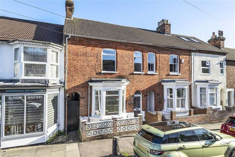 3 Bedrooms Terraced House for sale in Howbury Street, Bedford