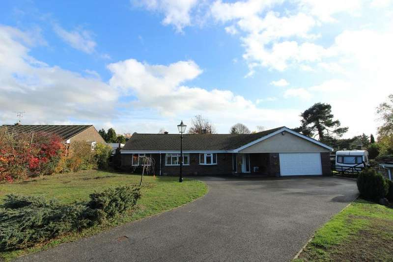 4 Bedrooms Detached Bungalow for sale in Longmeads, Wickham Bishops, Witham, Essex, CM8