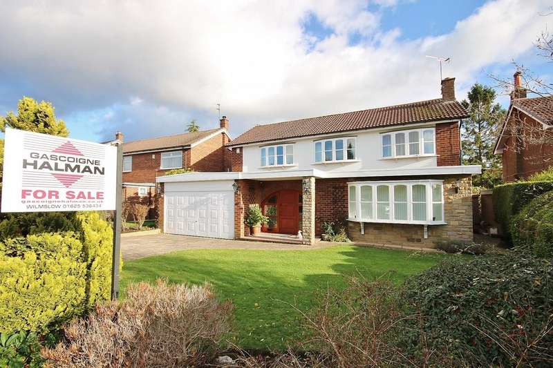 4 Bedrooms Detached House for sale in 23 Hill Drive, Handforth