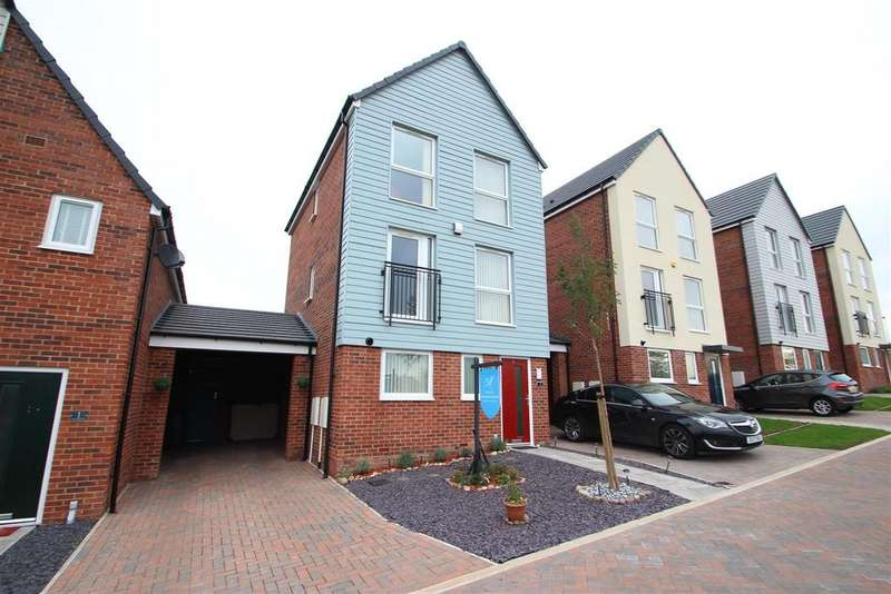 4 Bedrooms Detached House for sale in Richard Dawson Drive, Bucknall, Stoke-on-Trent