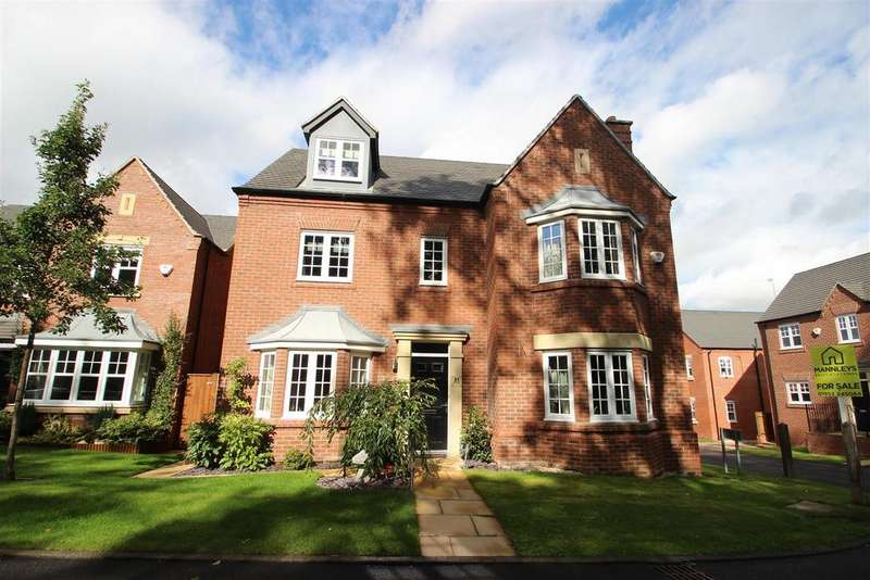 5 Bedrooms Detached House for sale in Jarrett Walk, Muxton, Telford