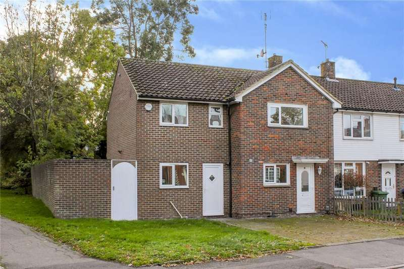 4 Bedrooms End Of Terrace House for sale in Braybrooke Road, Bracknell, Berkshire, RG42