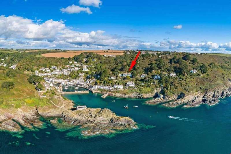 4 Bedrooms Detached House for sale in Polperro, Cornwall