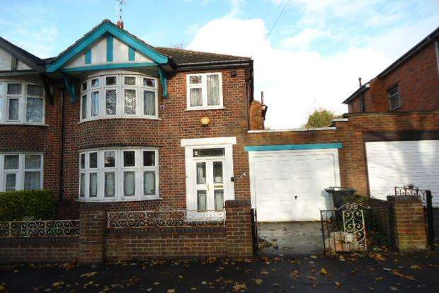 3 Bedrooms Semi Detached House for sale in Winchester Avenue, Western Park, Leicester, LE3