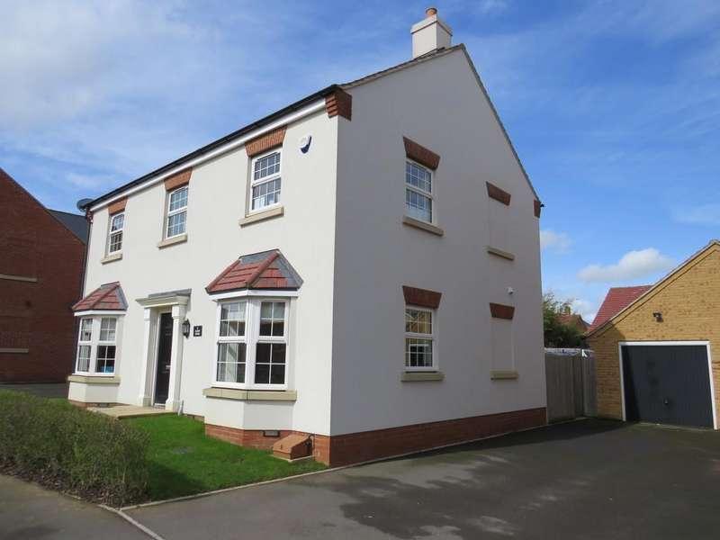 4 Bedrooms Detached House for sale in Alder Wynd, Silsoe, Bedford MK45 4GQ
