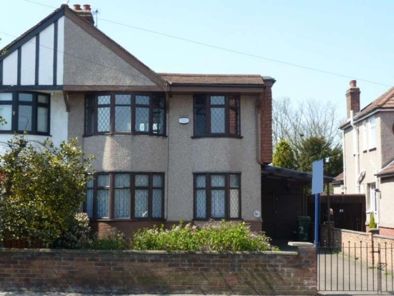 4 Bedrooms Semi Detached House for sale in Westwood Lane, Welling, Kent