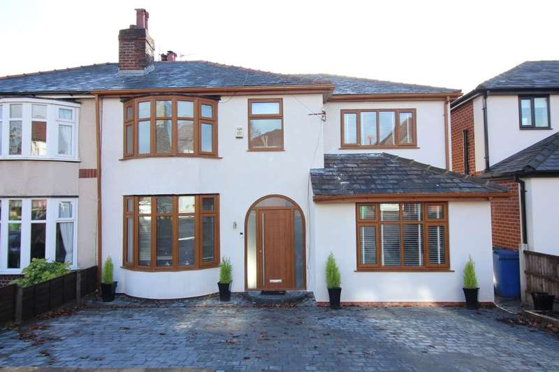 5 Bedrooms Semi Detached House for sale in Bolton Road West, Ramsbottom, Bury, BL0