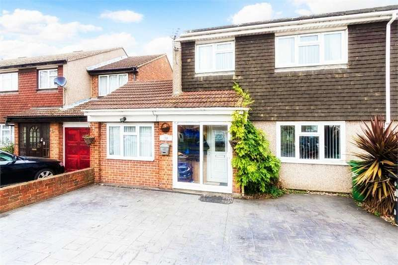 4 Bedrooms Semi Detached House for sale in Parlaunt Road, Langley, Berkshire