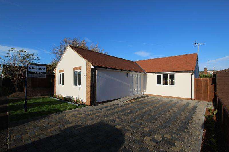 3 Bedrooms Detached Bungalow for sale in Orchard Close, Houghton Regis