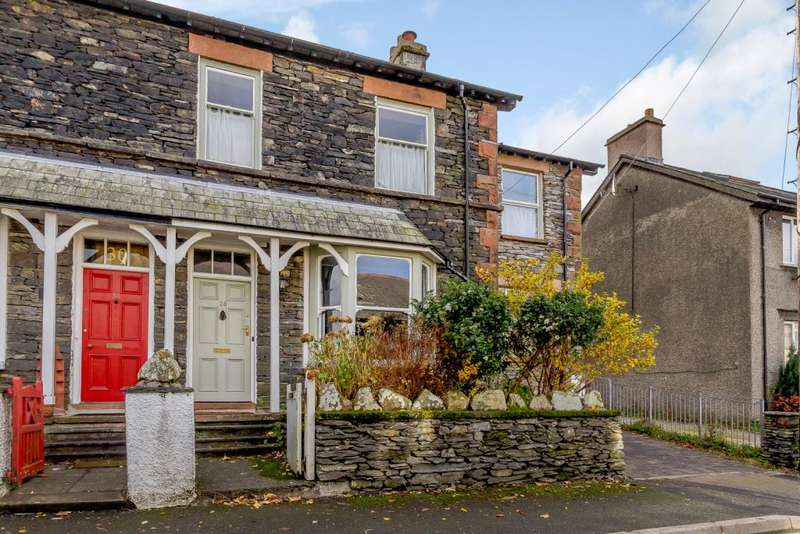 4 Bedrooms Terraced House for sale in Thornthwaite Road, Windermere, Cumbria, LA23 2DN