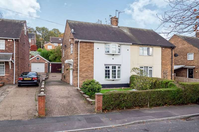 3 Bedrooms Semi Detached House for sale in Cherry Orchard Mount, Nottingham, NG5