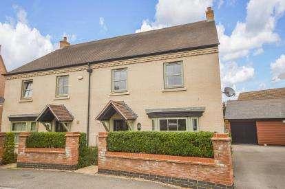 4 Bedrooms Semi Detached House for sale in Butler Drive, Lidlington, Beds, Bedfordshire
