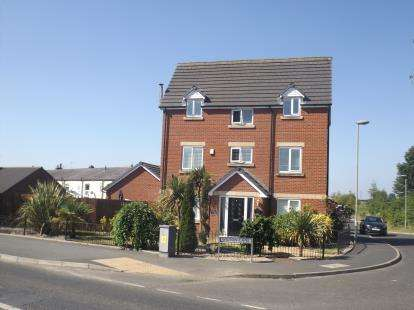 4 Bedrooms Detached House for sale in Wilton Lane, Radcliffe, Manchester, Greater Manchester