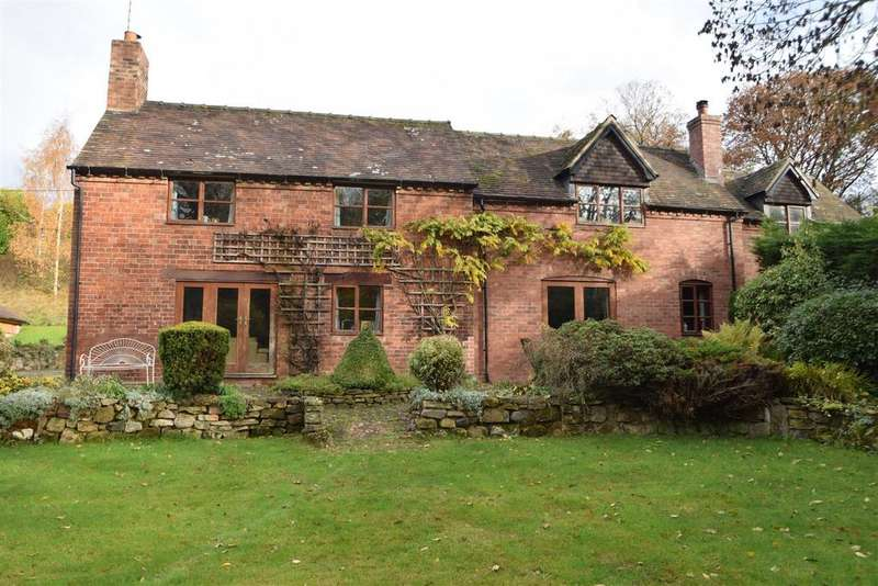5 Bedrooms Detached House for sale in Brook Hatch, Cound Moor SY5 6BB