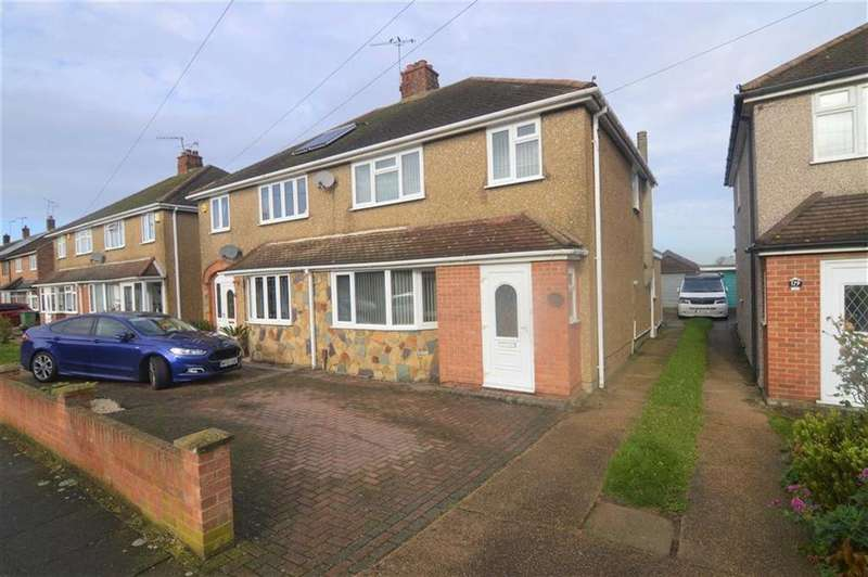 3 Bedrooms Semi Detached House for sale in Whitmore Avenue, Grays, Essex