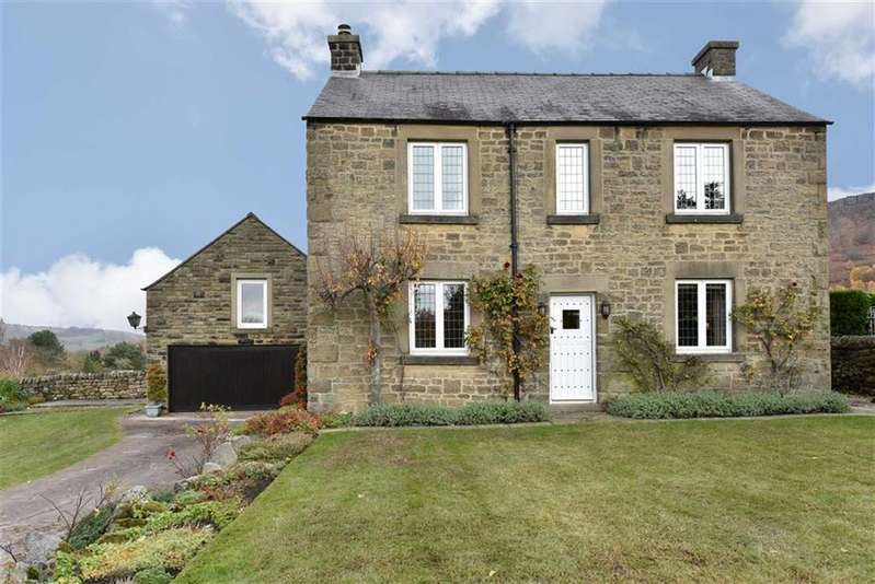3 Bedrooms Detached House for sale in Rutland, The Green, Curbar, Hope Valley, Derbyshire, S32