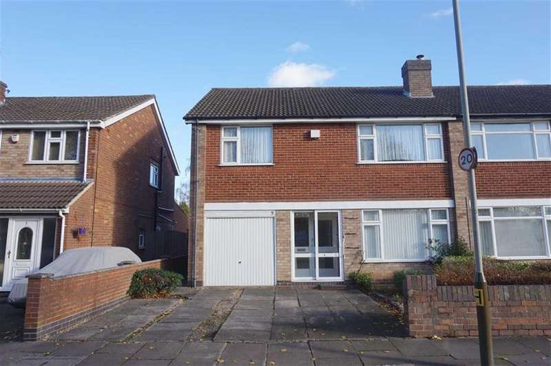 4 Bedrooms Semi Detached House for sale in Spencefield Drive, Evington, Leicester, Leicestershire