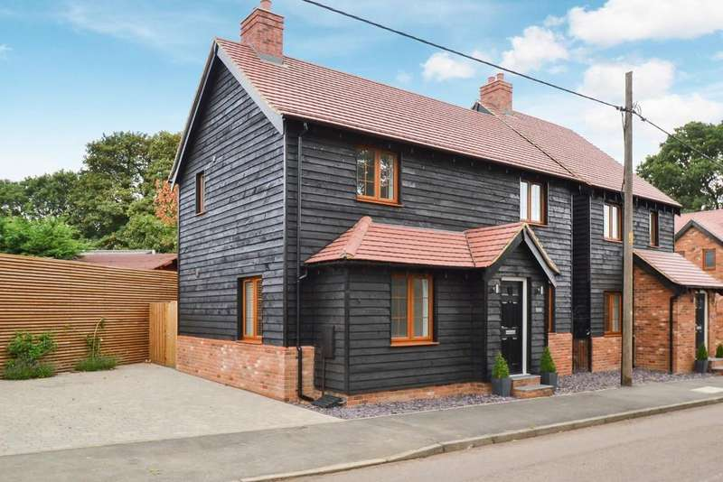 3 Bedrooms Detached House for sale in Front Street, Slip End, Luton