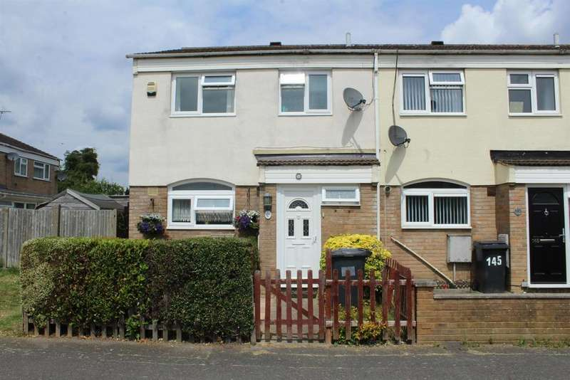 3 Bedrooms End Of Terrace House for sale in Newchurch Road, Slough