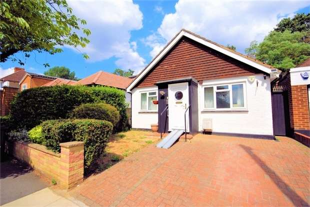 3 Bedrooms Detached Bungalow for sale in Abercorn Road, Mill Hill, NW7