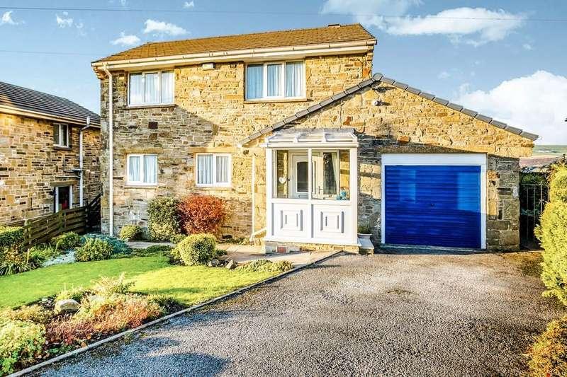 3 Bedrooms Detached House for sale in Gatehead Bank, Marsden, Huddersfield, HD7