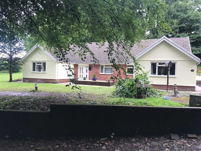 3 Bedrooms Detached Bungalow for sale in Broadlay, Ferryside