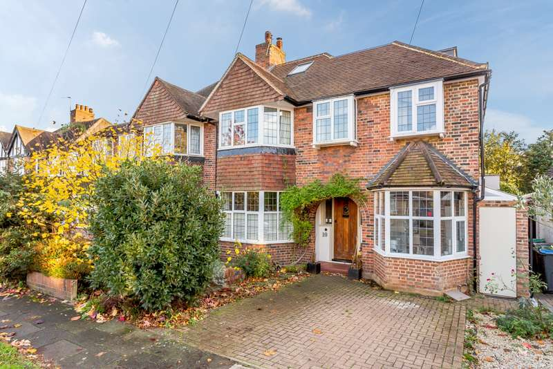 5 Bedrooms Semi Detached House for sale in Kingston Upon Thames