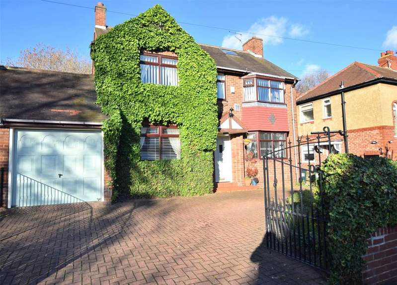 5 Bedrooms Link Detached House for sale in Low Fell