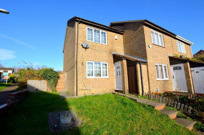 2 Bedrooms End Of Terrace House for sale in Repton Close, Luton, Bedfordshire, LU3 3UP