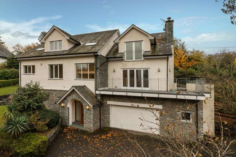 5 Bedrooms Detached House for sale in Welcome Lodge, Black Beck Wood, Storrs Park, Windermere, Cumbria, LA23 3LS