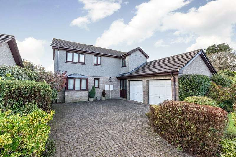 4 Bedrooms Detached House for sale in Tehidy Close, Camborne, TR14