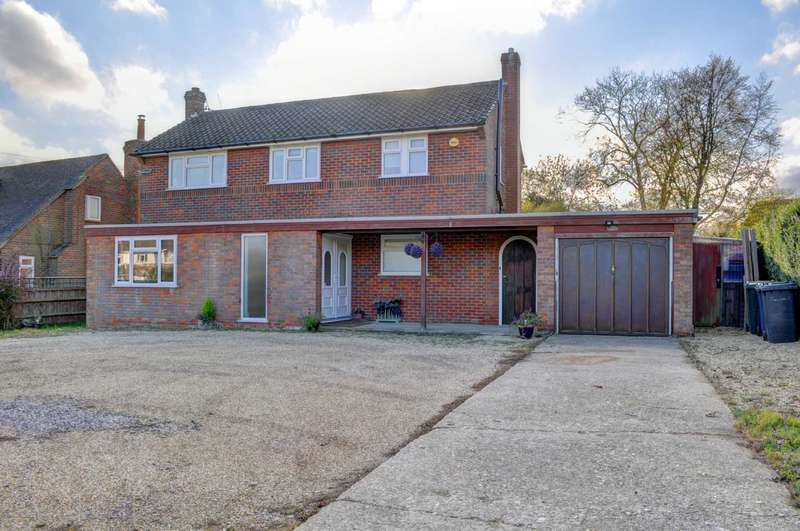 3 Bedrooms Detached House for sale in Lacey Green Village - Planning For Large Extension