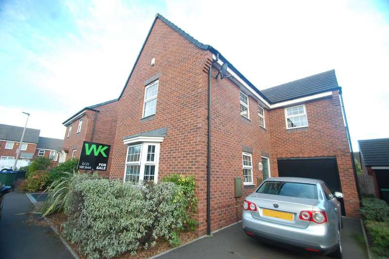 4 Bedrooms Detached House for sale in Marnham Road, West Bromwich, B71