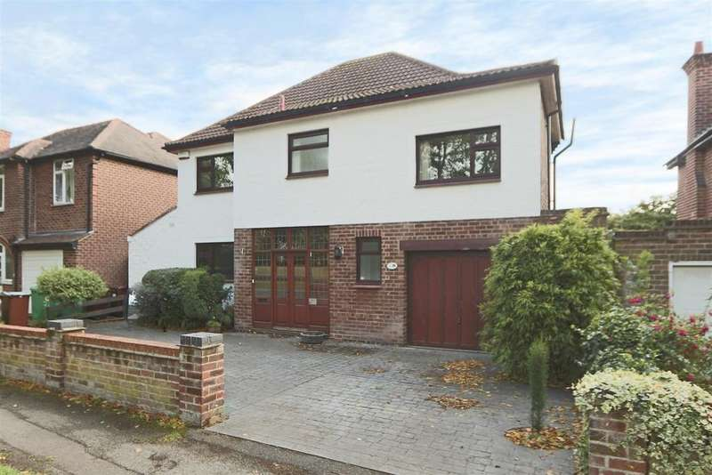 4 Bedrooms Detached House for sale in Ribblesdale Road, Sherwood Dales, Nottingham, NG5 3GY