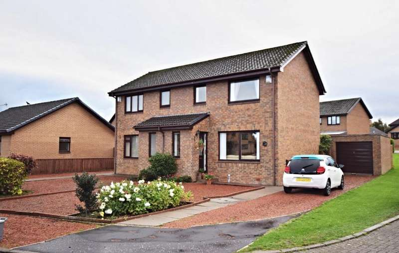 2 Bedrooms Semi-detached Villa House for sale in Overmills Road , Ayr , South Ayrshire , KA7 3LH