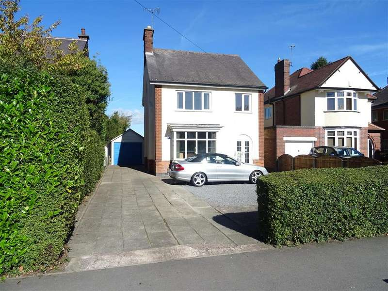3 Bedrooms Detached House for sale in Broom Leys Road, Coalville, Leicestershire