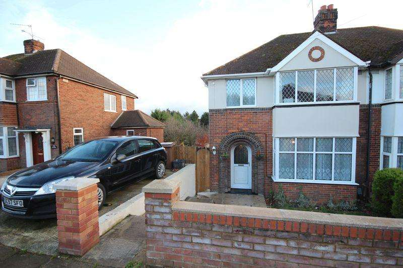 3 Bedrooms Semi Detached House for sale in Mossbank Avenue, Luton