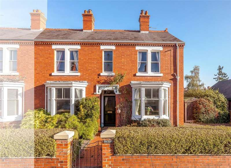4 Bedrooms Semi Detached House for sale in South Hermitage, Shrewsbury